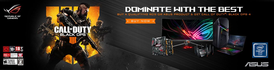 Asus Call Of Duty Black Ops 4 Promotion