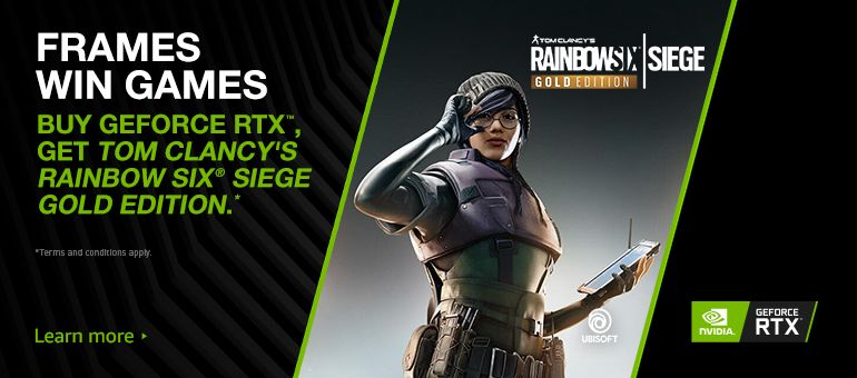 RAINBOW SIX SIEGE Gold Edition - Geforce RTX Bundle