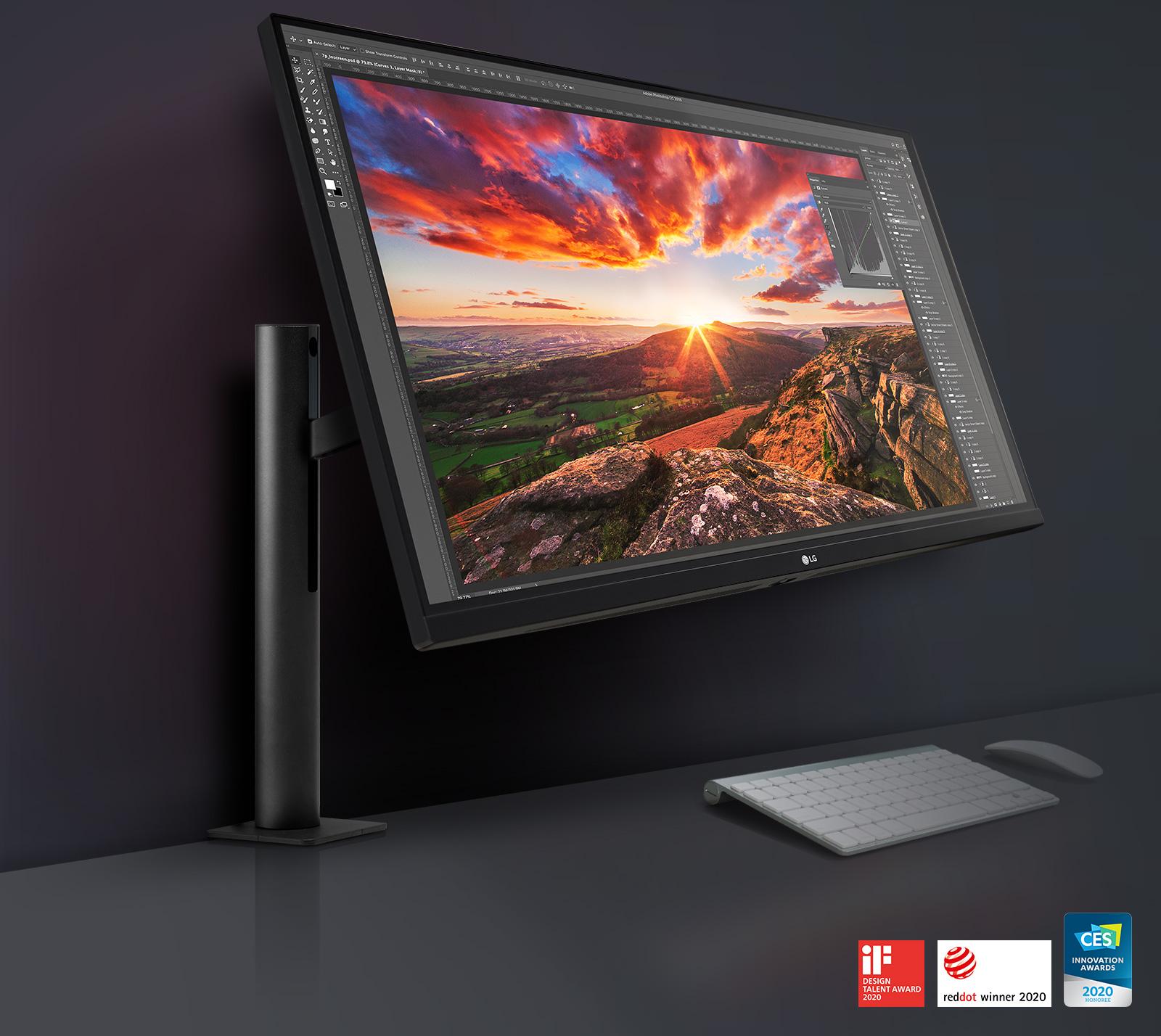 LG UltraFine™ Display Ergo: Designed Around You