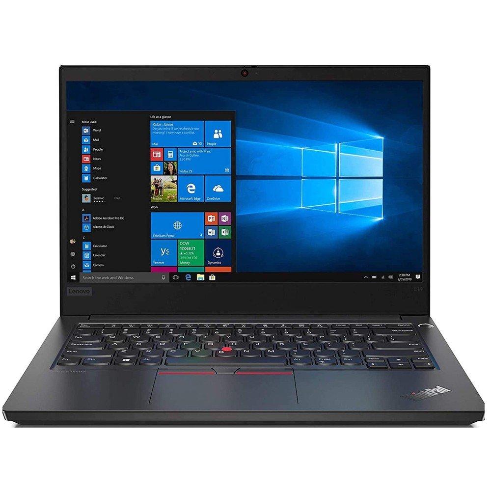 Lenovo E14 Notebook, 14 inch Full HD Display Core i5 Processor 4GB RAM 1TB HDD Storage UHD Graphics DOS, English