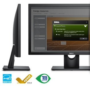 Dell 23 Monitor | E2316H - Eco-conscious and reliable