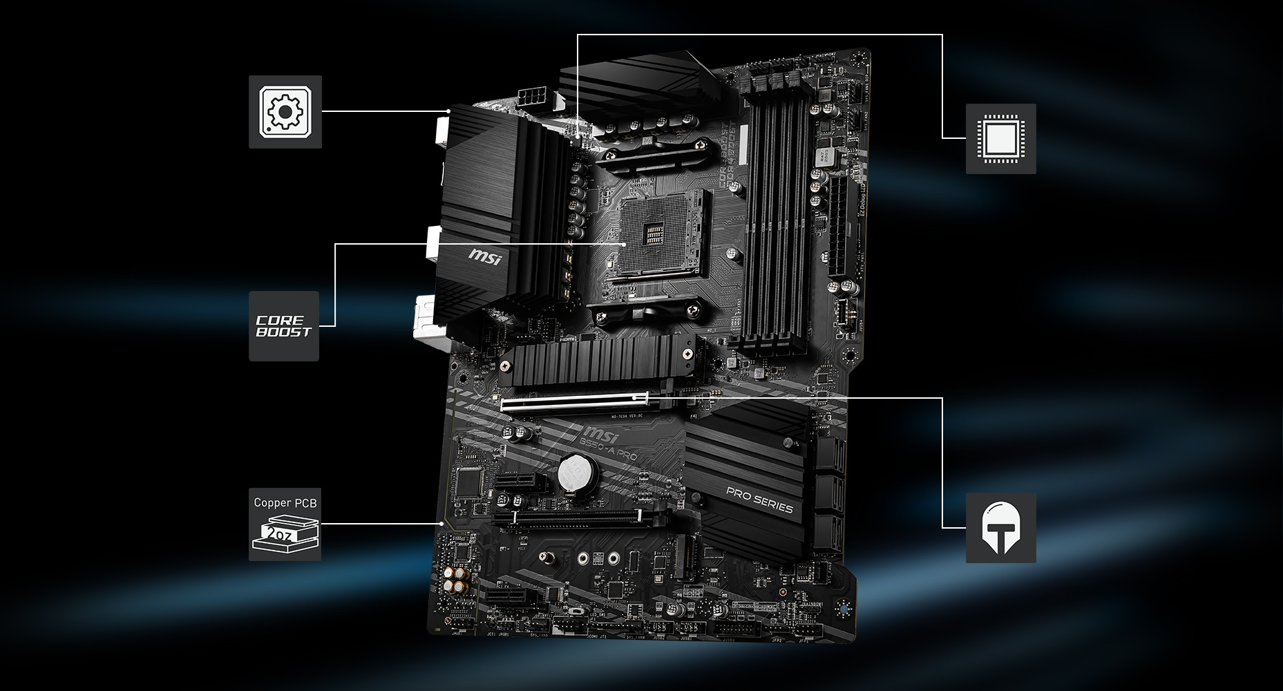 B550-A PRO motherboard