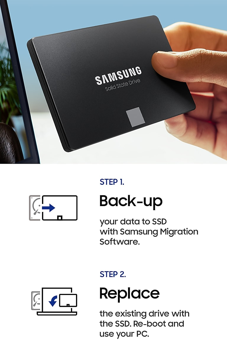 Upgrade with ease