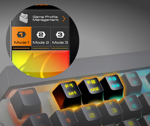 COUGAR ATTACK X3 RGB - On-the-fly Mode Switch