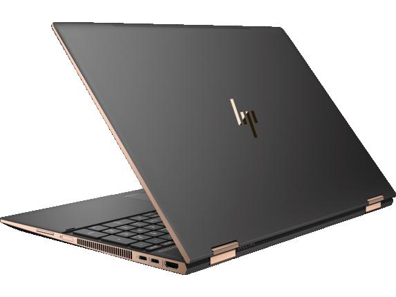 HP Spectre x360 - 15t Touch Laptop - Left rear