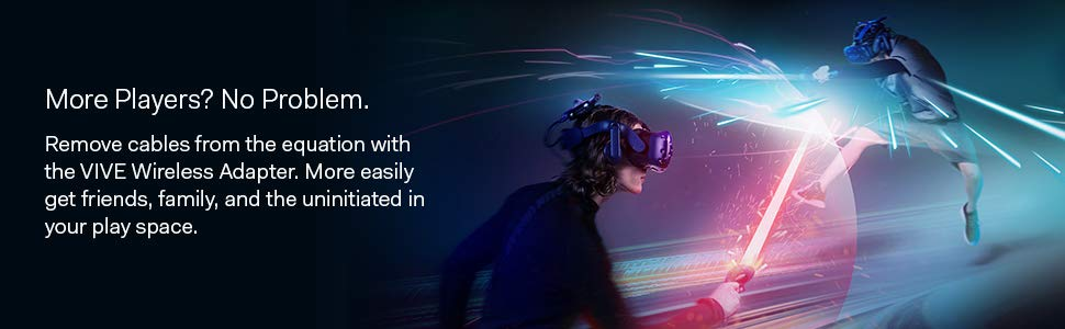 htc vive wireless adapter multiplayer virtual reality