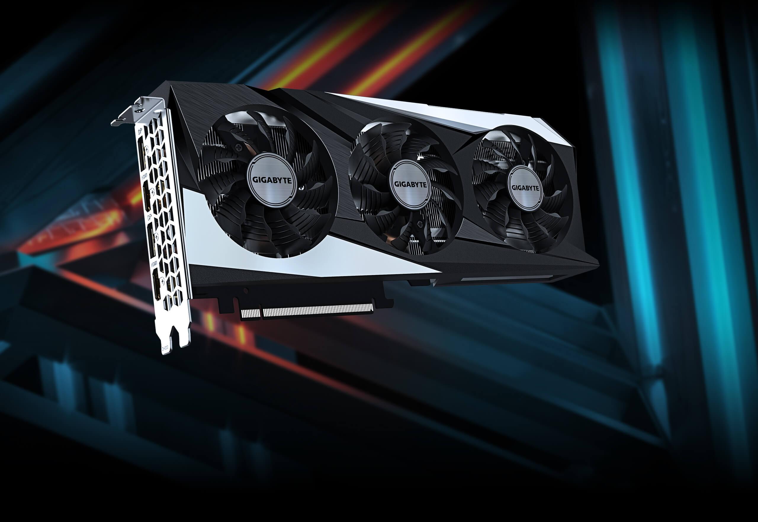 Gigabyte GeForce RTX 3060 GAMING OC 12G - GV-N3060GAMING OC-12GD 9