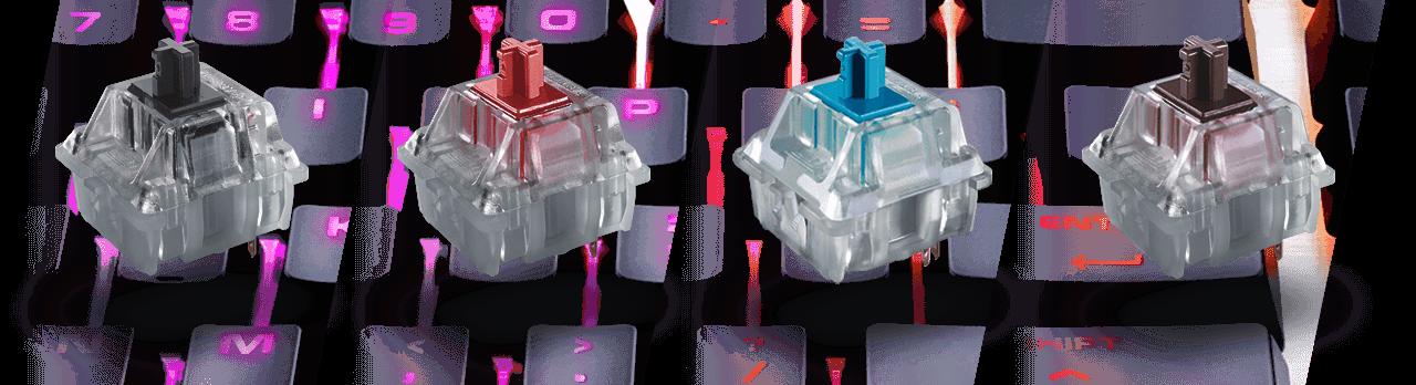 COUGAR ATTACK X3 RGB - Cherry MX RGB Mechanical Gaming Keyboard
