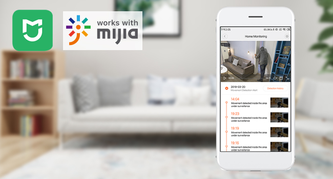work with Mijia Mi home