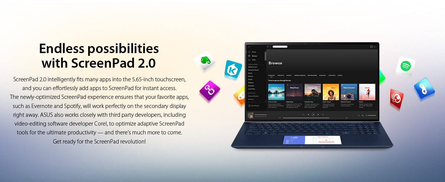 Endless possibilities with ScreenPad 2.0