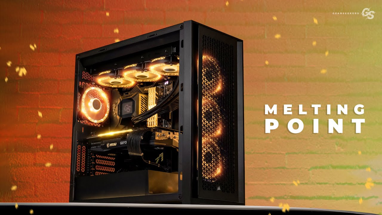 Melting Point: i9 11900K MSI RTX 3080 Corsair 5000D Airflow Build - YouTube