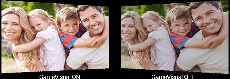 a family photo as screen