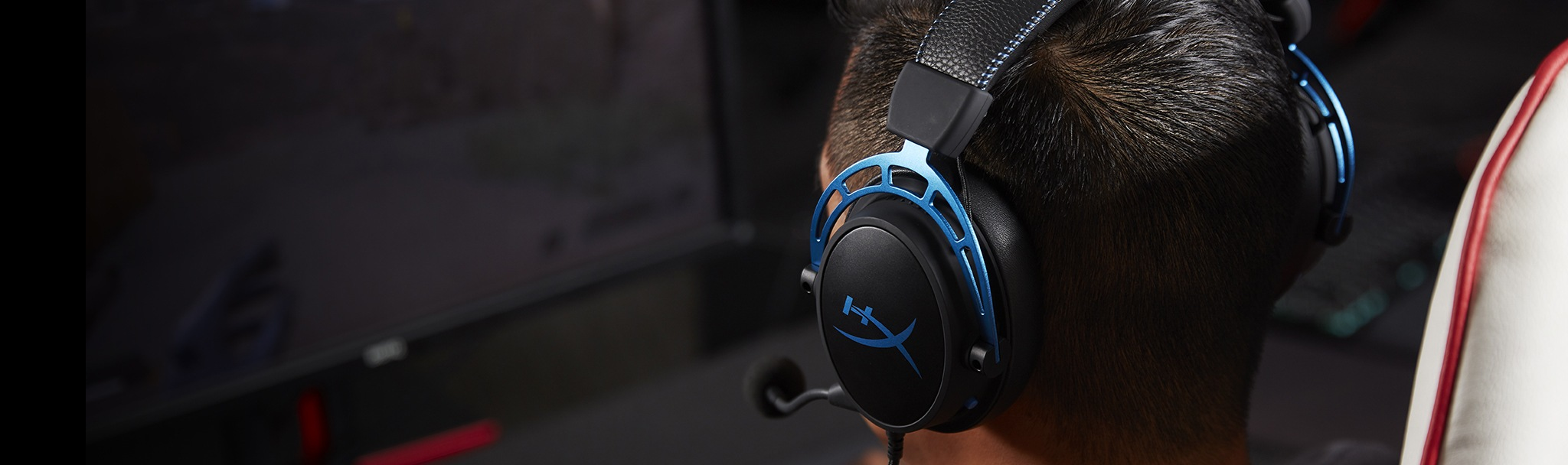 Custom-tuned HyperX 7.1. surround sound