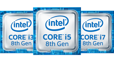 Supports Intel® 8th Generation Processors