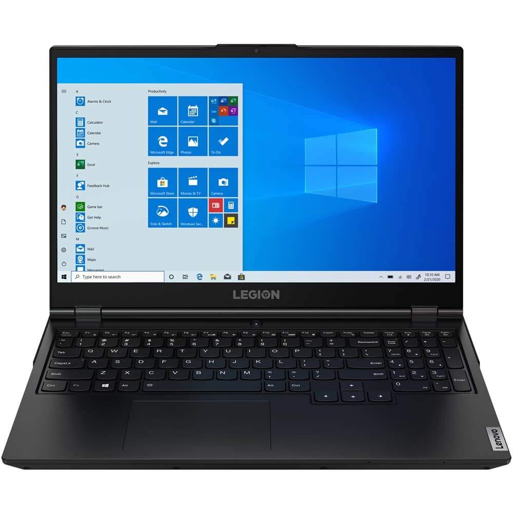 "Lenovo Legion 5 15.6"" Full HD Gaming Notebook Computer, Intel Core i7-10750H 2.6GHz, 16GB RAM, 256GB SSD, NVIDIA GeForce GTX 1660 Ti 6GB, Windows 10 Home, Phantom Black"