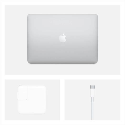 "Apple MacBook Air (2020), M1 Chip, 8GB Ram, 256GB SSD, 13"" Retina Display with True Tone, English Backlit Magic Keyboard - Silver Color   MGN93"