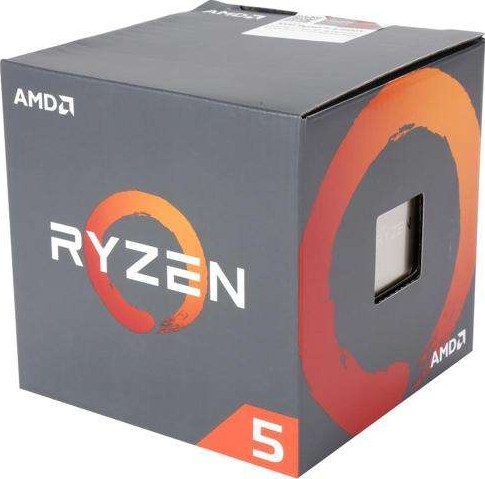 AMD Ryzen 5 1600 CPU for DT 6C 12T, 19MB Cache 3 2 Ghz Base 3 6 GHz  Precision Boost YD1600BBAE