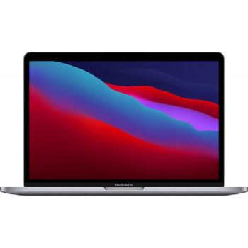Apple MacBook Pro M1 Chip 8-core Laptop, 8GB RAM, 512GB SSD, 13.3 Inch, Touch Bar and Touch ID, Space Gray, Laptop | MYD92B/A