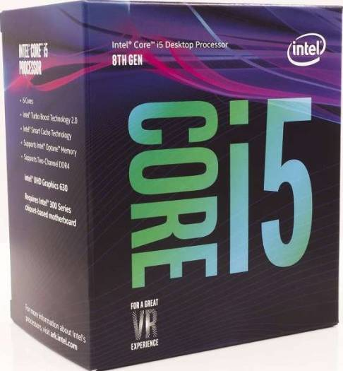 Intel Core i5-8600 Coffee Lake Desktop Processor (Core 6, 14nm, up to 4.30 GHz Turbo, LGA 1151) | BX80684I58600