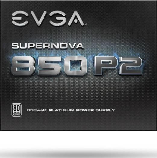 EVGA SuperNOVA 850 P2 850W 80+ PLATINUM Fully Modular Power Supply   220-P2-0850-X2