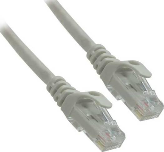 Genuine 0.5 meter Cat6 UTP PVC Patch Cord Ethernet Cables RJ45 (Gray) | GNPC-C6UGRY-0.5