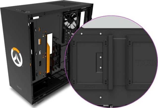 NZXT H500 Overwatch Special Edition Tempered Glass ATX Mid-Tower Computer  Case – Black | CA-H500B-OW