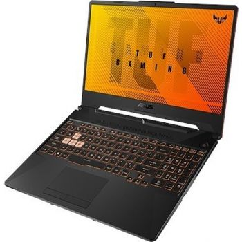 Asus TUF Gaming A15 Laptop - Ryzen 7 4800H 2.9GHz 16GB 1TB SSD RTX 2060 6GB Win10 15.6inch FHD 144 HZ English/Arabic Keyboard - Black | FA506IV-AL031T