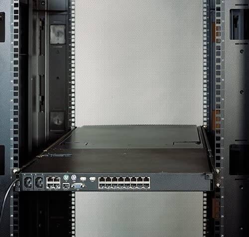 APC KVM 2G, LCD Rear Mounting Kit - Black | KVM-LCDMOUNT