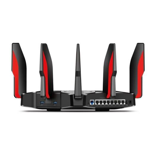 TP-Link AC5400x Tri Band Smart WiFi Gaming Router (802.11 a/b/g/n/ac, 1000Mbps @ 2.4GHz, 2167Mbps @ 5GHz, USB 3.0) | AC5400x