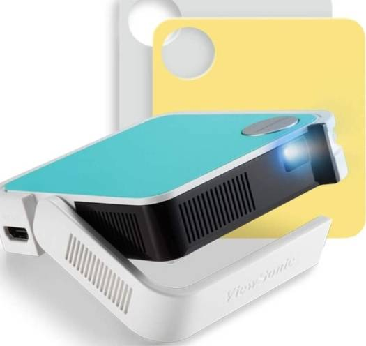 ViewSonic M1 Mini Portable LED Projector with JBL Speaker, HDMI, USB Type-A, Automatic Vertical Keystone, Built-in Battery, 1080p Support Sale 30 | M1 Mini