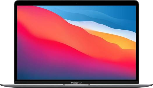 """Apple MacBook Air (2020), Apple M1 Chip with 8-core, 8GB Ram, 256GB SSD, 13"""" Retina Display, English Keyboard - Space Grey Color 