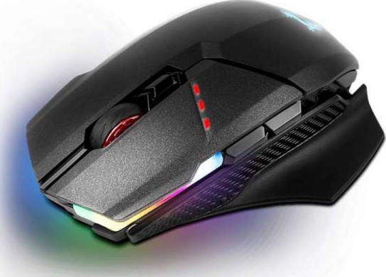b2bde6f8cb2 MSI Clutch GM70 Gaming Mouse with RGB Mystic Light (Wireless mode w/ USB  dongle