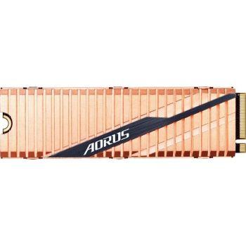Gigabyte Aorus NVMe Gen4 SSD 1TB M.2 2280 PCI-Express 4.0 x4 3D TLC Internal Solid State Drive (SSD) Dual Side Copper   GP-ASM2NE6100TTTD