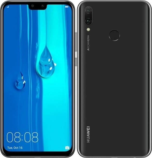 Huawei Y9 (2019) 64GB, 4G LTE, Dual Sim - Midnight Black   JKMLX1 Buy, Best  Price in Saudi Arabia, Riyadh, Jeddah, Medina, Dammam, Mecca