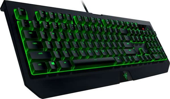 0e169b7356f Razer BlackWidow Ultimate Keyboard, Mechanical Switches, Water and Dust  Resistant (Green)