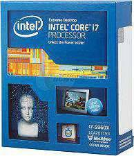 Intel Core i7 5960X Haswell Extreme 8 Core 3.0GHz (up to 3.5Ghz) 20MB Cache LGA 2011 140W - BX80648I75960X