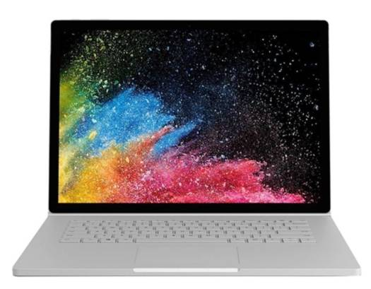 "Microsoft Surface Book 2  13"", Intel Core i7 8th Gen 8650U (1.90 GHz), 8GB Ram, 256GB SSD, NVIDIA GeForce GTX 1050 (2GB), TRA EN/AR 