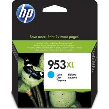 HP 953XL Cyan High Yield Original Ink Cartridge | F6U16AE