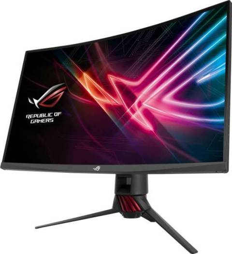 Asus XG32VQ 31.5-Inch Wide Screen (2560x1440) 16:9 Curved 144 Hz FreeSync  (HDMI, DP, Mini-DP) Gaming Monitor | XG32VQ