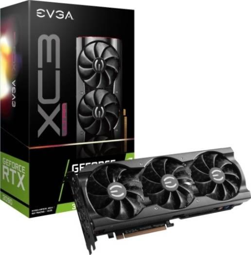 EVGA GeForce RTX 3090 XC3 ULTRA GAMING, 24G-P5-3885-KR, 24GB GDDR6X, iCX3 Cooling, ARGB LED, Metal Backplate   24G-P5-3975-KR
