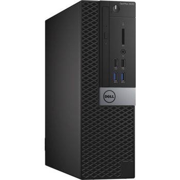 Refurbished Dell OptiPlex 5040 Desktop Computer - Intel Core i5, 6th Generation, 8GB RAM, 500GB HDD + 240GB SSD, Windows 7 Pro |