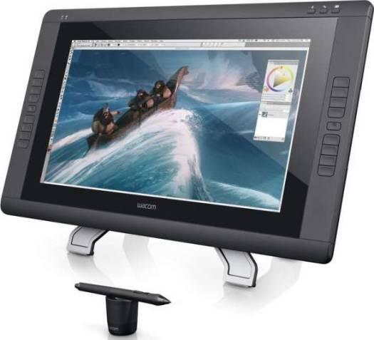 Wacom Cintiq 22HD 21-Inch Pen Display Tablet, Black   DTK-2200