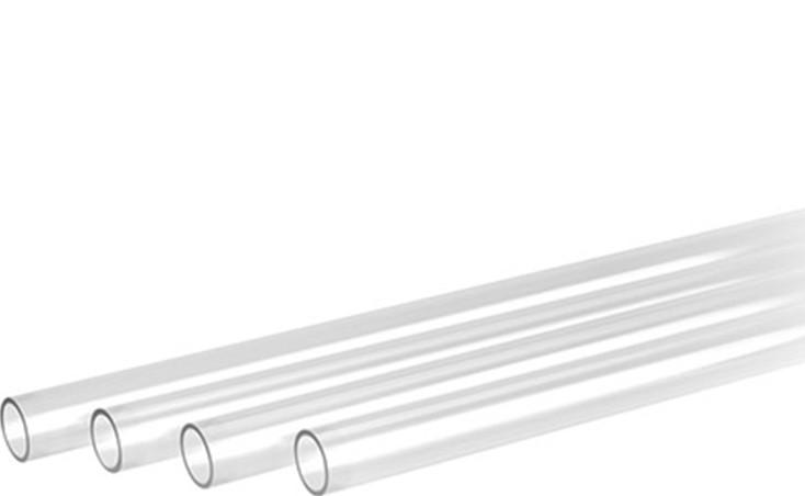 1000mm EKWB EK-HD PETG Tube 4-Pack Clear 10//12mm