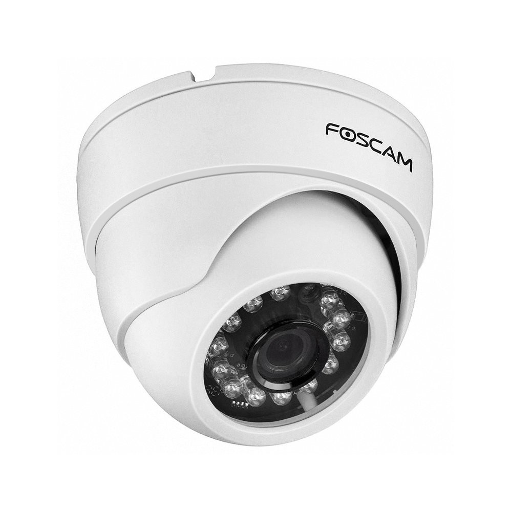 Foscam 720P HD WiFi Dome IP Camera, Indoor Security Surveillance Camera  33ft Night Vision, Motion
