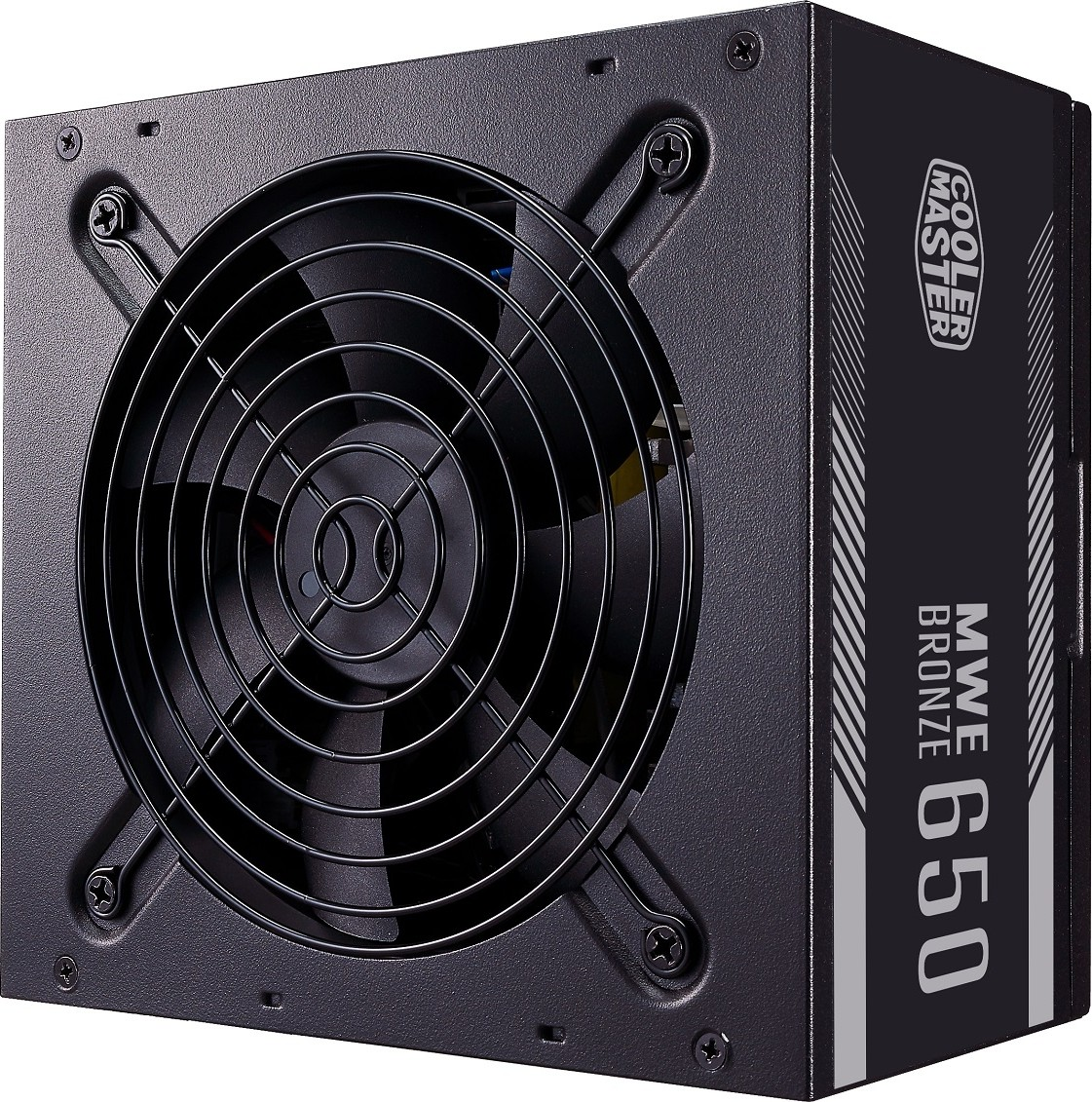 Cooler Master MWE Bronze V2 650W 80 Plus Bronze, DC-to-DC Circuit Design,  120mm HDB Fan, Non Modular ATX Power Supply | MPE-6501-ACAAB