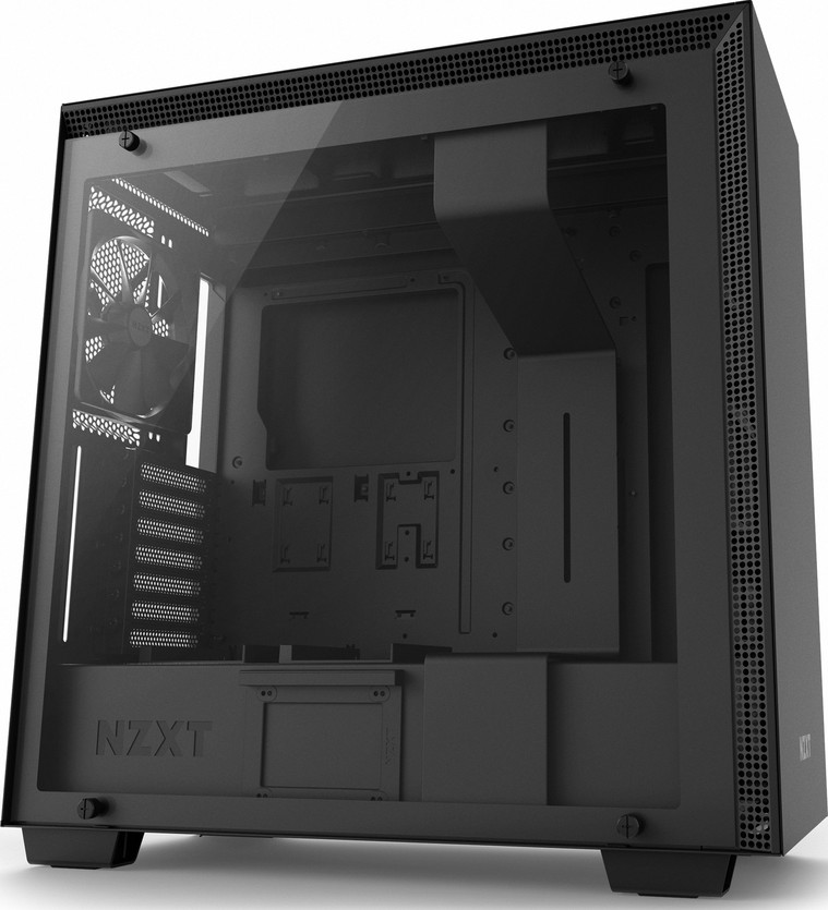 NZXT H700 E-ATX Mid Tower - Tempered Glass Window - Compact PC Gaming