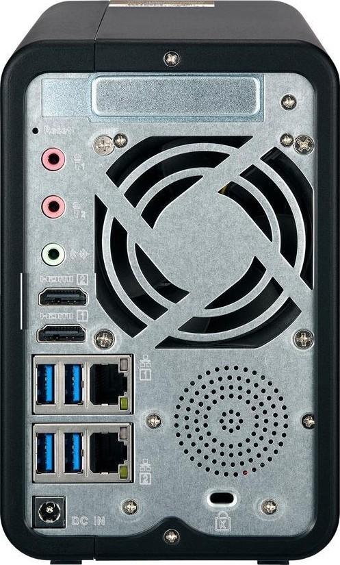QNAP TS 253Be 4G NAS Network Access Storage Intel Celeron J3455 quad core  1 5 GHz, up to 2 3 G