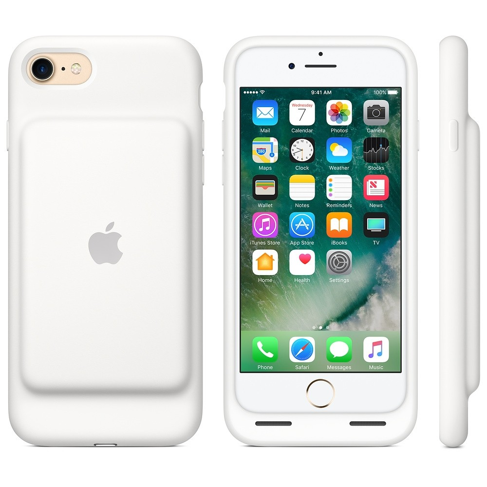 Apple iPhone 7 Smart Battery Case White MN012