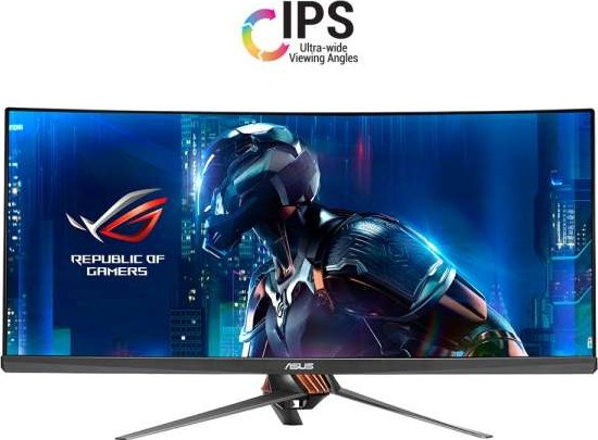 ASUS ROG Swift PG348Q Gaming monitor QHD 3440x1440 Curved Monitor 90LM02A0  B01370