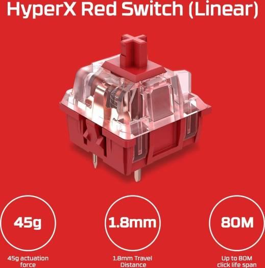 HYPERX Alloy Elite 2 – Mechanical Gaming Keyboard | HKBE2X-1X-US/G